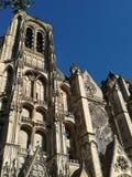 Kathedrale von Bourges, Frankreich lizenzfreie stockfotos
