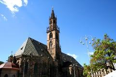 Kathedrale von Bozen Stockbild
