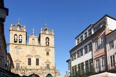 Kathedrale von Braga, Portugal lizenzfreies stockfoto