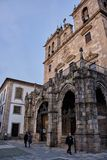 Kathedrale von Braga, Portugal lizenzfreie stockfotos