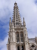 Kathedrale von Burgos Stockfotografie