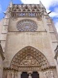 Kathedrale von Burgos Stockbild