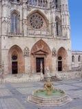 Kathedrale von Burgos Stockfoto
