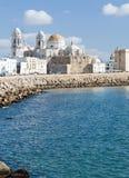 Kathedrale von Cadiz Lizenzfreie Stockfotos