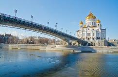 Kathedrale von Christ der Retter, Moskau lizenzfreie stockfotos