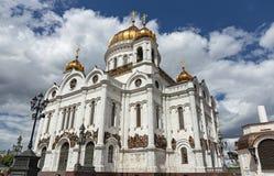 Kathedrale von Christ der Retter in Moskau Russland stockfoto