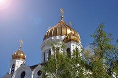 Kathedrale von Christ der Retter in Moskau, Russland stockbild