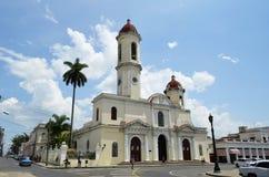 Kathedrale von Cienfuegos (Kuba) Lizenzfreie Stockfotos