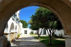 Kathedrale von Faro, Faro, Algarve, Portugal stockfotografie