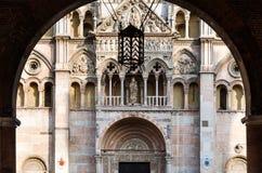 Kathedrale von Ferrara Stockbild