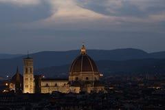 Kathedrale von Florenz Stockfotos
