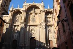 Kathedrale von Granada, Andalusien, Spanien Lizenzfreie Stockbilder