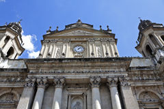 Kathedrale von Guatemala-Stadt Lizenzfreies Stockfoto