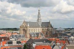 Kathedrale von Haarlem Stockfotos