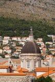 Kathedrale von heiligen Jungfrau Maria in Dubrovnik Stockfotos
