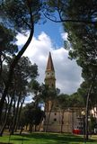 Kathedrale von Heiligen Peter in Arezzo Italien Stockbild