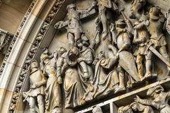 Kathedrale von Heiligen Vitus, Prag Stockfotos