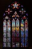 Kathedrale von Heiligen Vitus, Prag Stockbild