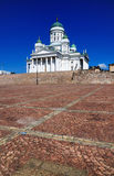 Kathedrale von Helsinki, Finnland Stockfotos