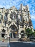 Kathedrale von Johannes das göttliche, NYC-Haupteingang Lizenzfreie Stockfotografie