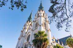 Kathedrale von Johannes der Baptist lizenzfreies stockfoto