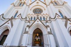 Kathedrale von Johannes der Baptist lizenzfreie stockbilder