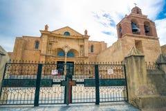 Kathedrale von La Menor Sankt MarÃa in der Kolonialzone von Santo Domingo, Dominikanische Republik lizenzfreies stockfoto