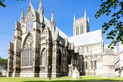 Kathedrale von Lincoln Stockfoto