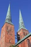 Kathedrale von Luebeck stockfotografie
