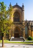 Kathedrale von Mary Immaculate Vitoria-Gasteiz, Spanien Stockbilder