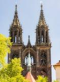 Kathedrale von Meissen Lizenzfreies Stockfoto