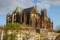 Kathedrale von Metz Lizenzfreie Stockbilder