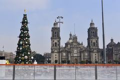 Kathedrale von Mexiko City Stockbilder
