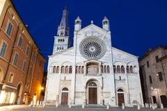 Kathedrale von Modena Emilia Romagna Italy lizenzfreie stockfotos