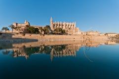 Kathedrale von Palma Lizenzfreie Stockfotos