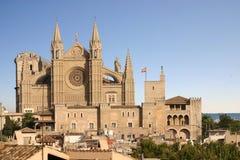 Kathedrale von Palma de Majorca Stockfoto