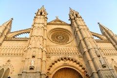 Kathedrale von Palma de Mallorca Stockfotos