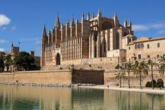 Kathedrale von Palma in Palma de Mallorca, Spanien Stockbild