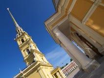Kathedrale von Peter und von Pavel Lizenzfreies Stockfoto