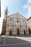 Kathedrale von Pienza Lizenzfreie Stockbilder