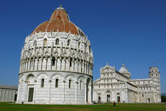 Kathedrale von Pisa, Itally Stockbilder