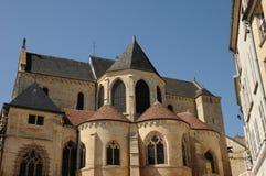 Kathedrale von Pontoise Lizenzfreies Stockbild