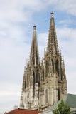 Kathedrale von Regensburg Lizenzfreies Stockfoto
