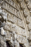 Kathedrale von Reims - Äußeres Lizenzfreie Stockfotografie