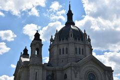 Kathedrale von Saint Paul in Minnesota Stockfotos