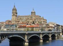 Kathedrale von Salamanca Lizenzfreie Stockbilder