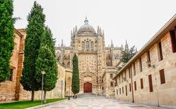 Kathedrale von Salamanca, Kastilien y Leon Region, Spanien Stockbild