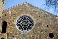 Kathedrale von San Giusto Martire in Triest in Friuli Venezia Giulia (Italien) Stockfoto