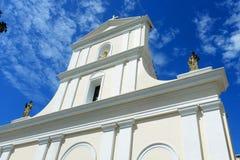Kathedrale von San Juan Bautista, San Juan, Puerto Rico Stockbilder