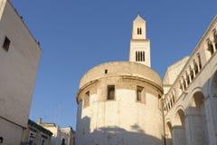 Kathedrale von San Sabino in Bari, Italien stockfotos